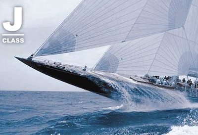 "J Class yachts are sometimes called ""racing submarines""."