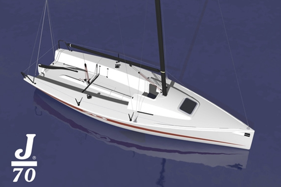 The new J/70 is intended for sailors who want a fast trailerable boat, and at yacht clubs and sailing organizations interested in upgrading their fleets.