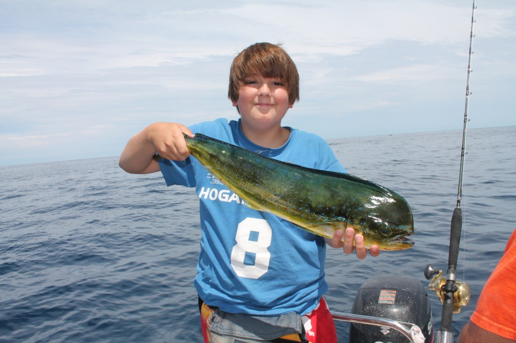 offshore fishing for mahi