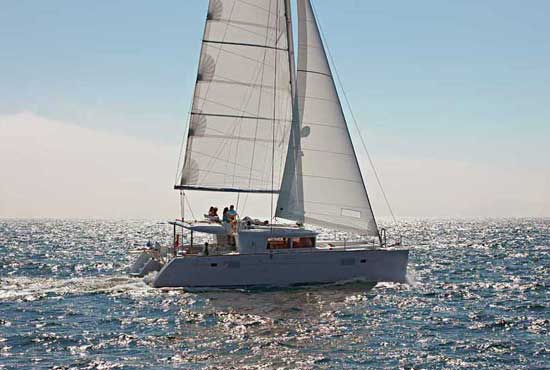 The Lagoon 450 is designed to maximize fun in the sun - perfect for a charter fleet.