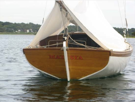 Matsya, our Herreshoff 21-foot Marlin