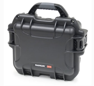 Nanuk's smallest waterproof hardcase, the 222.