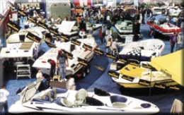 Land exhibits at Powerboat Expo
