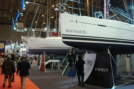 The new First 35 from Beneteau