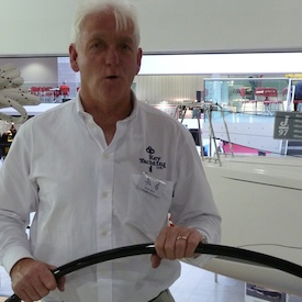 Paul Heys, UK dealer for J/Boats at Key Yachting Ltd