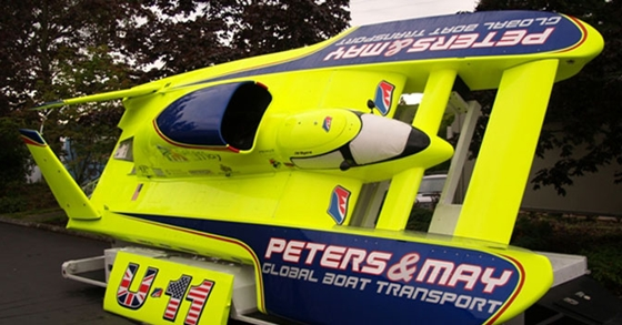 Peters and May Unlimited Hydroplane to Run In England