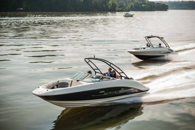 sea ray jet boats running