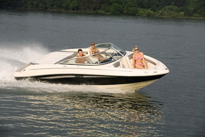 The Sea Ray 210 Select