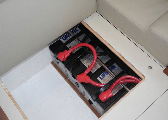 Sealed batteries like these Lifelines can still off-gas if they are overcharged.