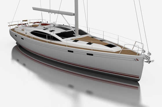Southerly 45, a stylish bluewater cruiser by Stephen Jones