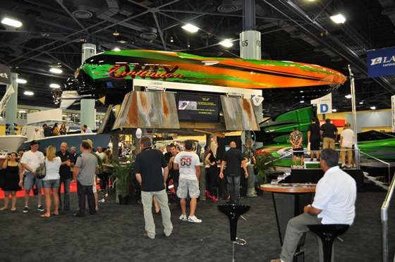 Statement's exhibit won the 2012 Miami International Boat Show's Best Display award.