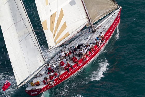 Volvo Ocean Race Forecast: Fresh, Chance of Frightening