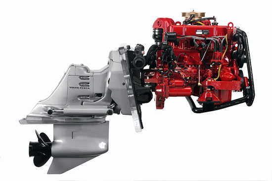 Volvo penta drops 3 0 liter engines for General motors marine engines
