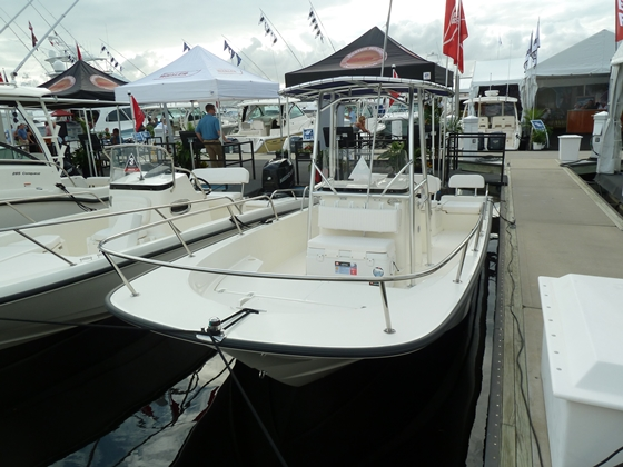 Whaler's 210 Montauk is offered in a great package with engine and trailer.