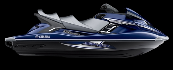 Yamaha WaveRunner FX Cruiser models feature a new stepped seat with room for three adults.